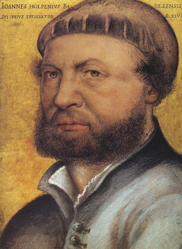 Автопортрет Гольбейна. 1542 год