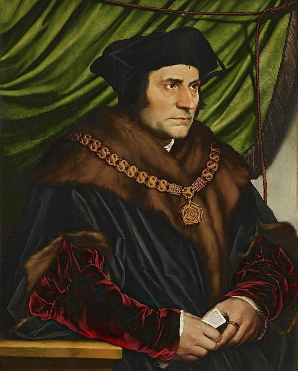 "Ганс Гольбейн Младший. ""Портрет сэра Томаса Мора"". 1526 год"