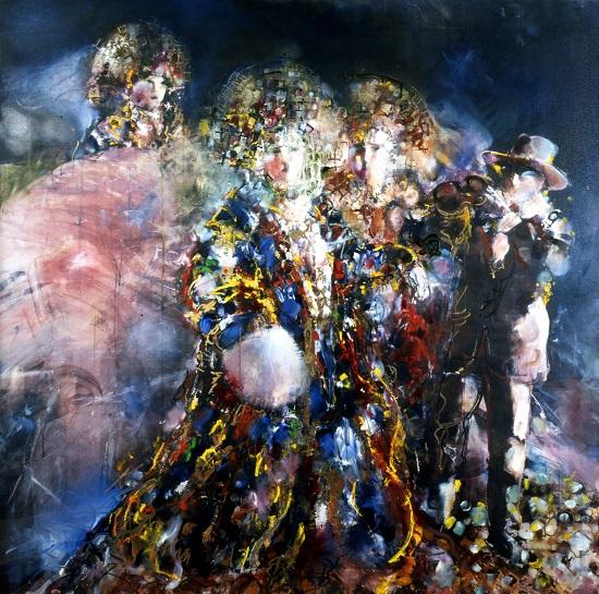 хамдамов картины фото съемке селфи