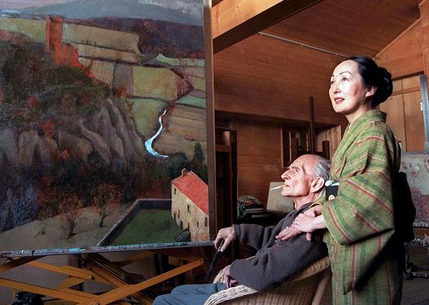 С женой японкой Сетсуко. 1998 год