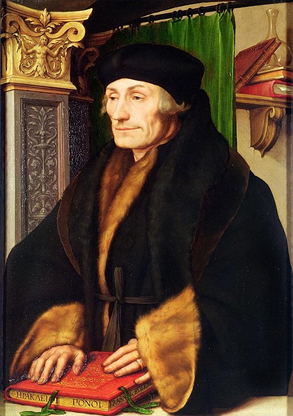 """Ганс Гольбейн Младший. """"Портрет Эразма Роттердамского"""". 1523-1524 годы"""